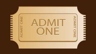 Admit one golden ticket