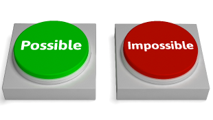 Green possible-Red impossible buttons