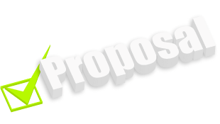 Proposal with green check