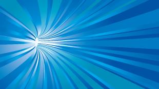 Blue vortex tunnel