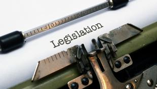 Legislation on typewriter