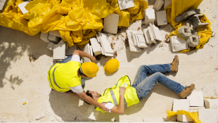 Construction workers injured on site