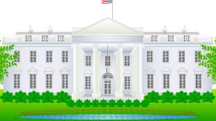 Illustration of white house