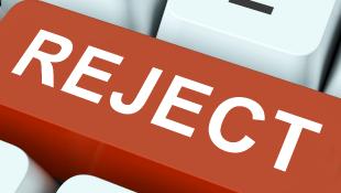 Reject key on typewriter
