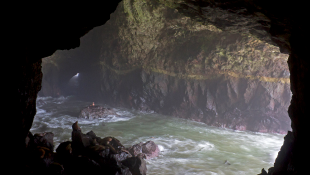 Cave with water